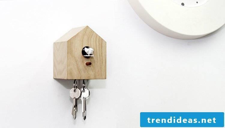 Cuckoo clocks with modern design