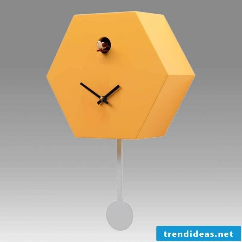 Trendy design for the cuckoo clocks