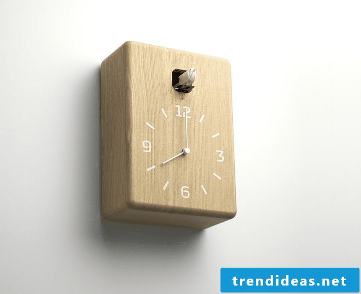 Cuckoo clock made of wood