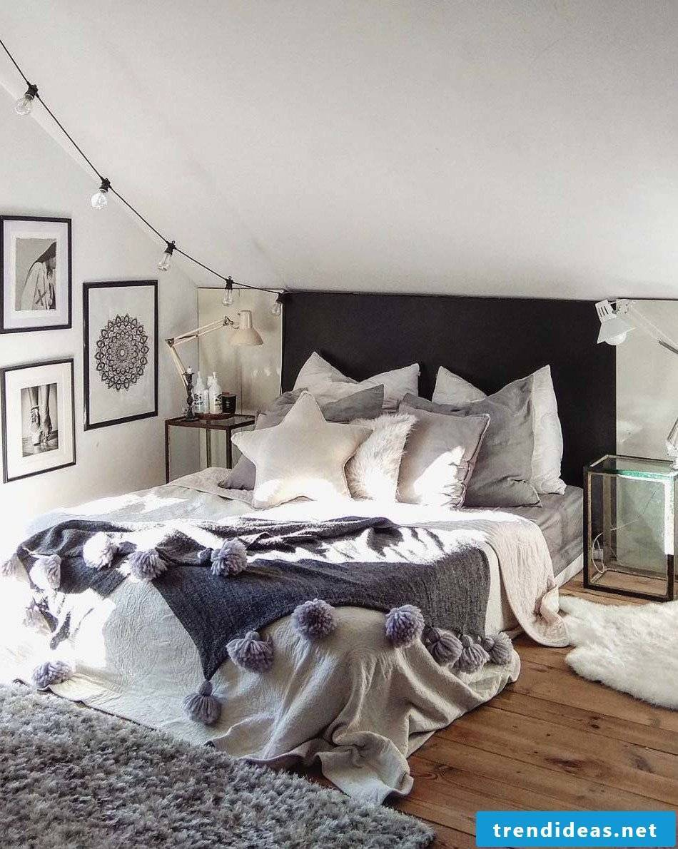Bedroom ideas for the winter