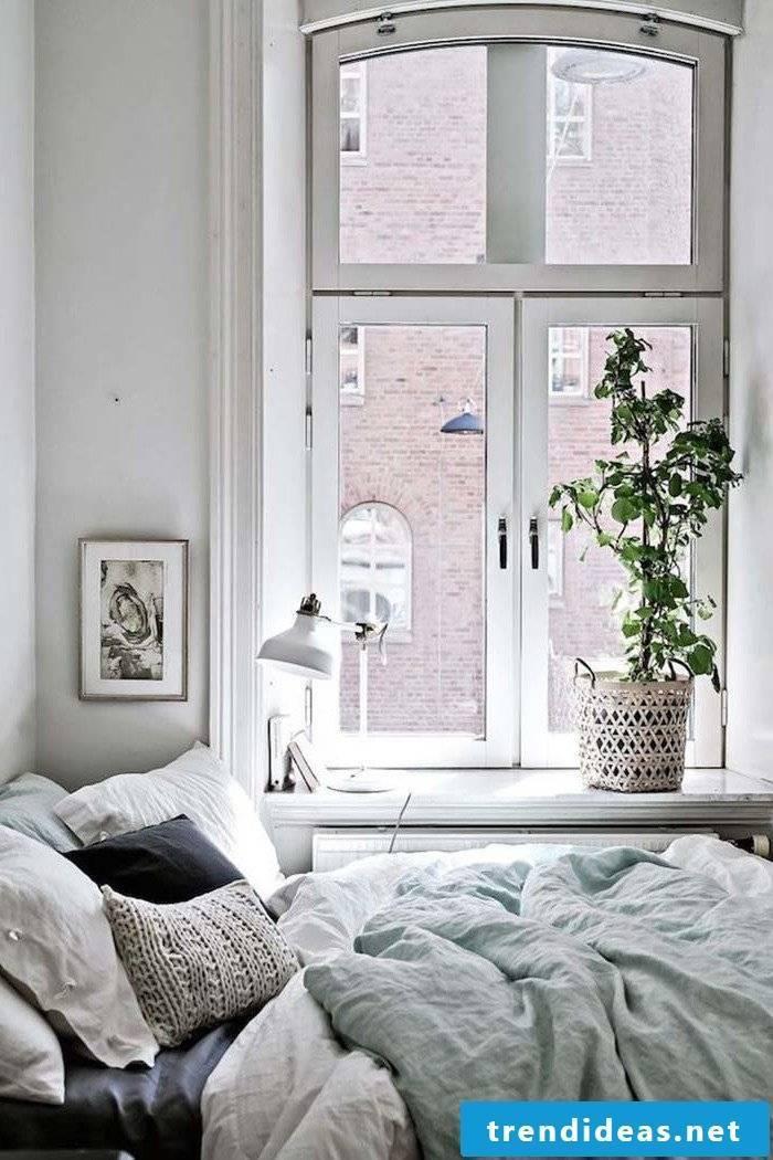 Bedroom ideas in Scandinavian style