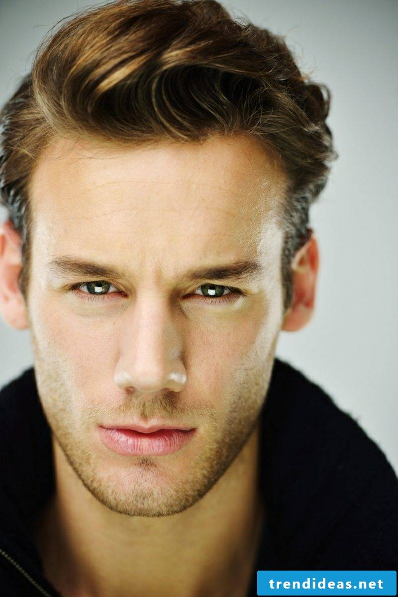 Men's hairstyles 2014 short hair side parting