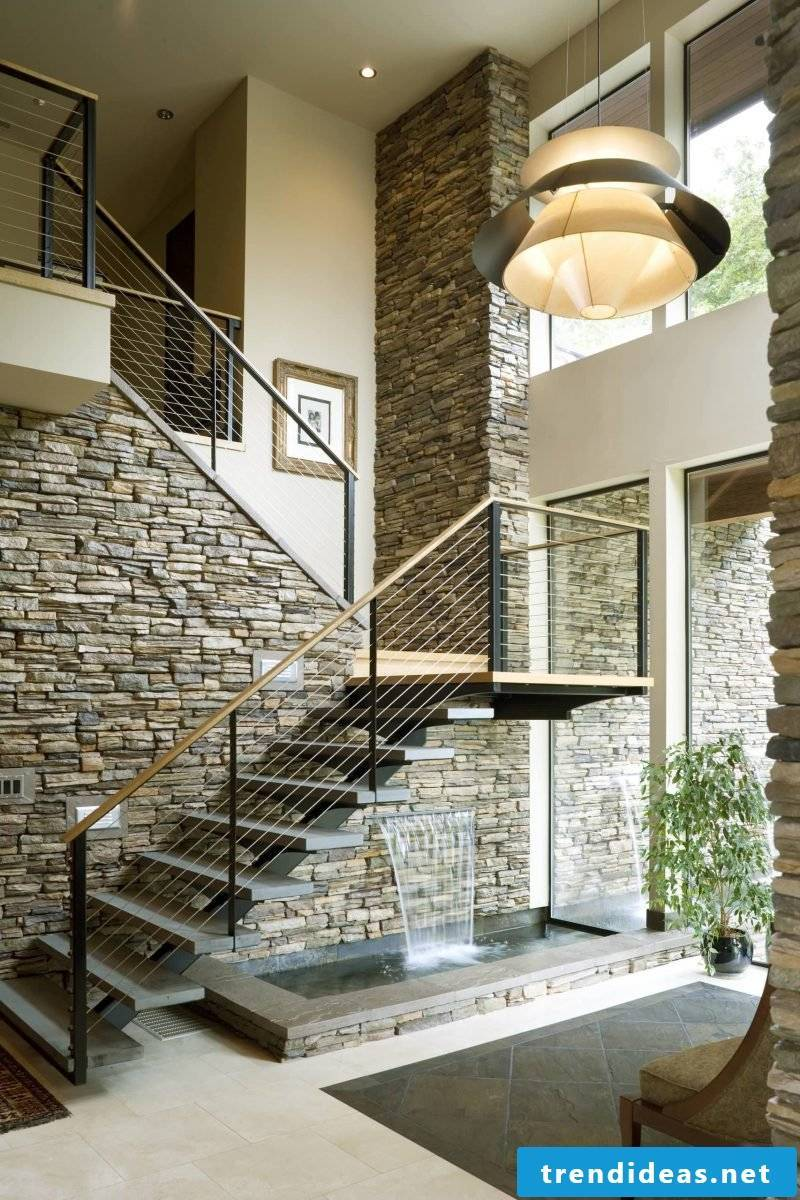 Sculpting modern stairs - stair styles and their design