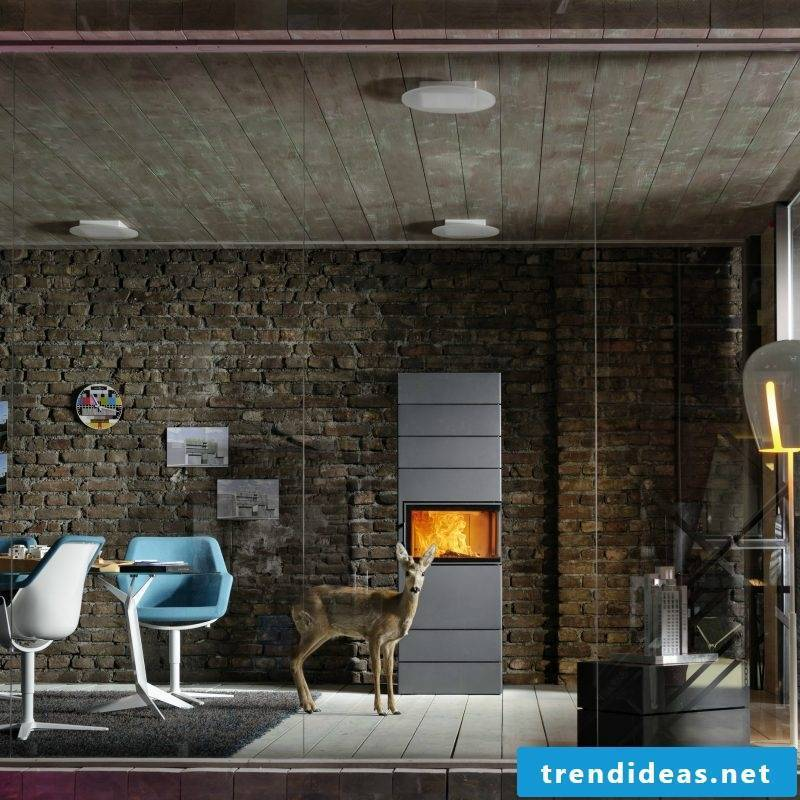 Modern stoves from Austroflamm offer simple design and functionality
