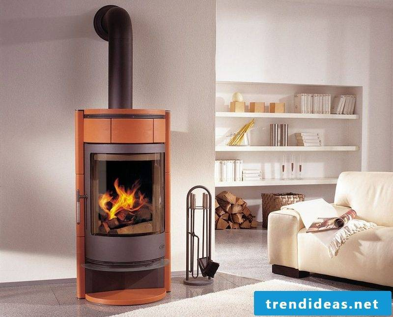 Modern stoves from Buderus meet all the requirements of a modern fireplace