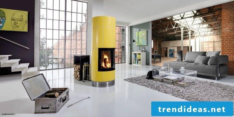 Modern stoves offer color to your taste