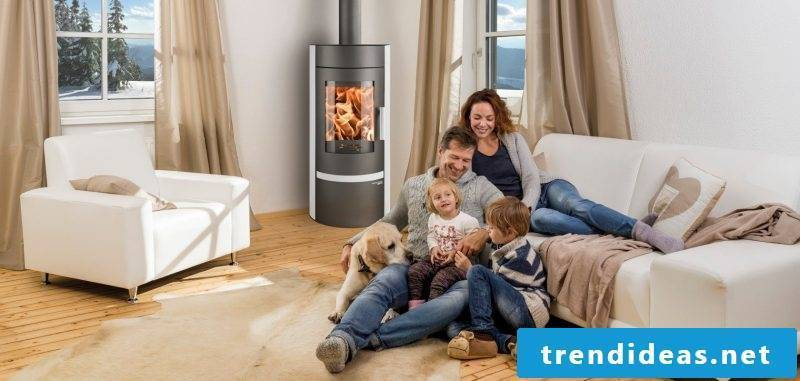 Modern Stoves: The best location is the corner