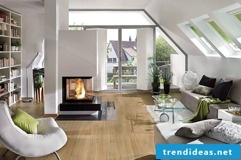 Modern stoves must be in the middle of the room