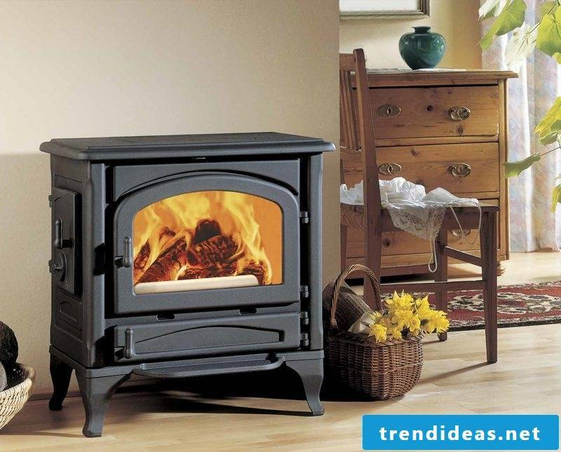 Modern stoves are made of steel