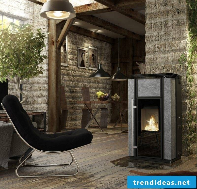 Modern stoves with Mramor area