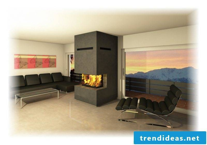 Modern stoves with a simple design or generous
