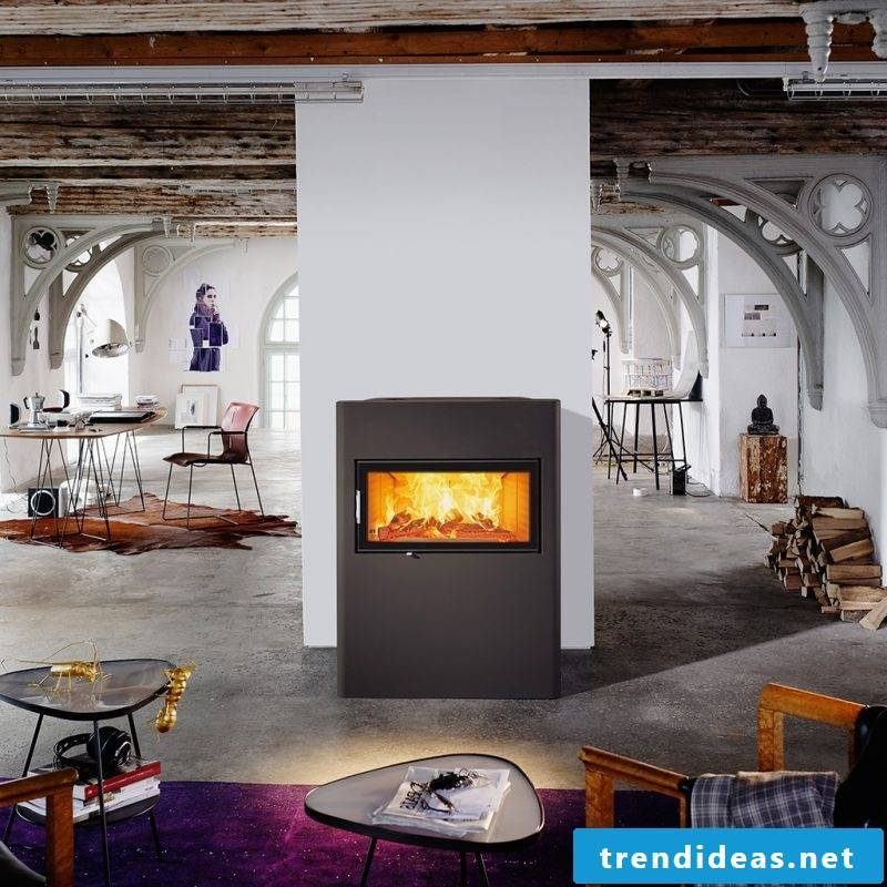 Modern stoves from Austroflamm are made with love to detail