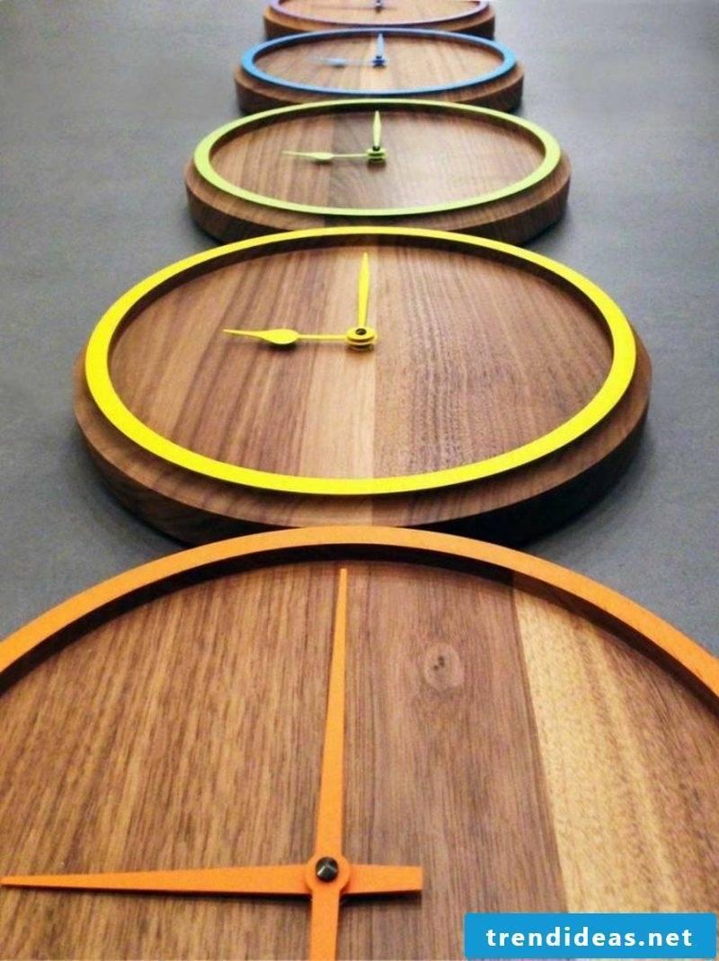 modern wooden wall clocks
