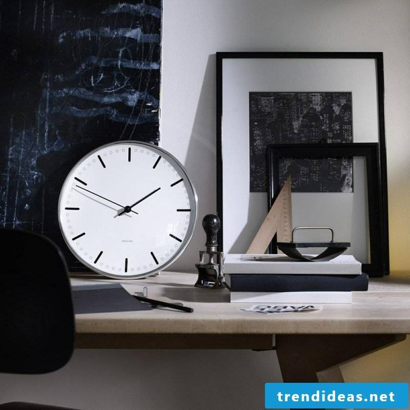 modern wall clocks rosendahl over ambientedirect