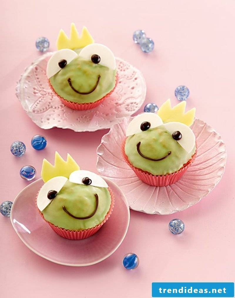 Child muffins frog prince recipe