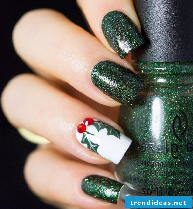 Nailart gallery Christmas motifs