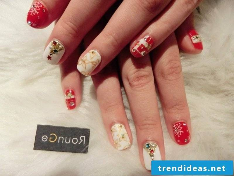 Nailart gallery Christmas motives