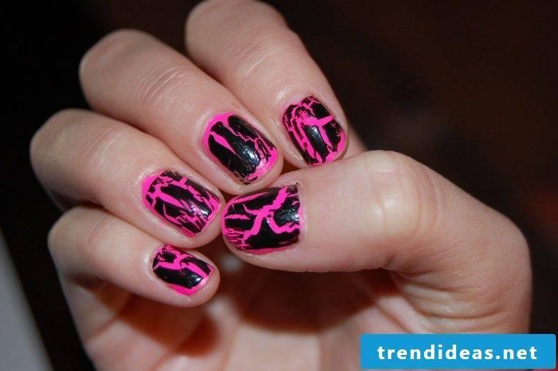 Nailart instructions nail polish