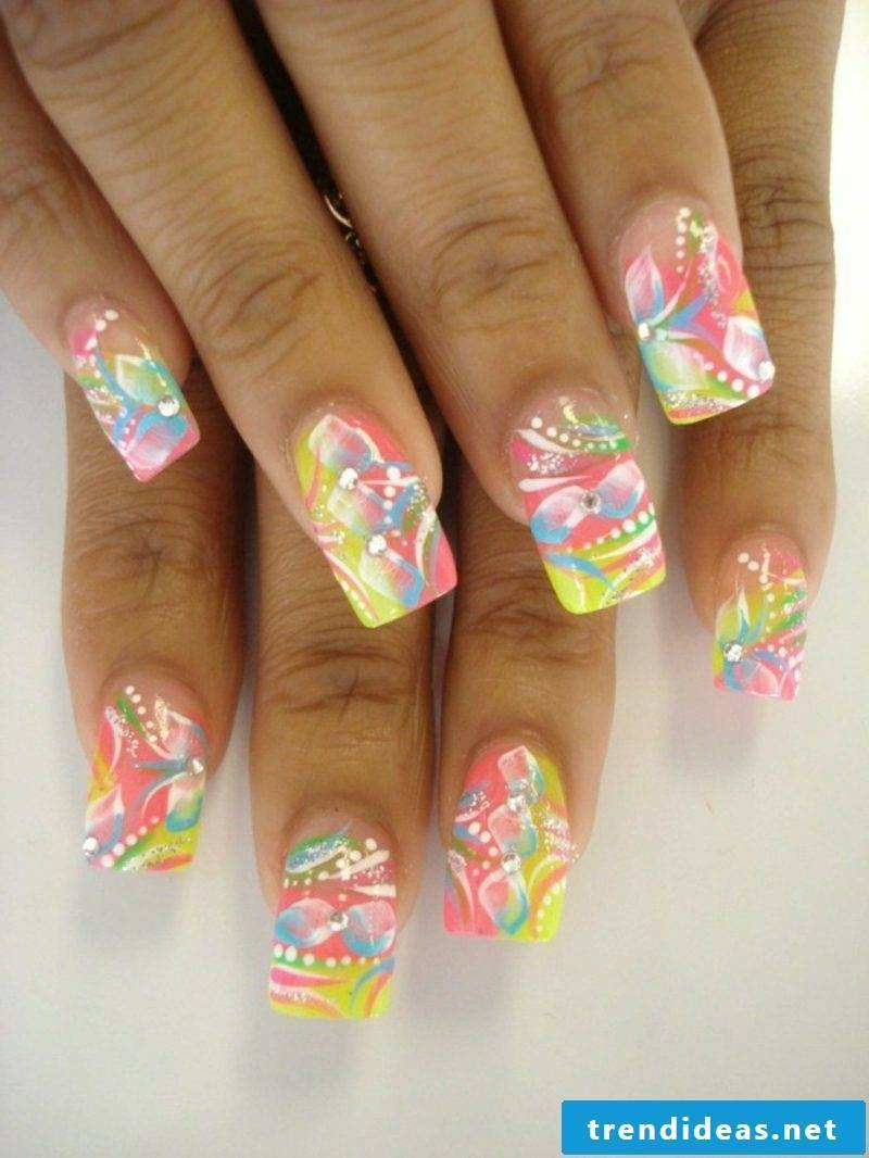 Spring nail design attractive ideas