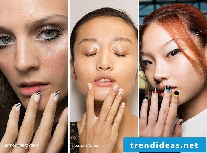 Nail motifs geometric trends