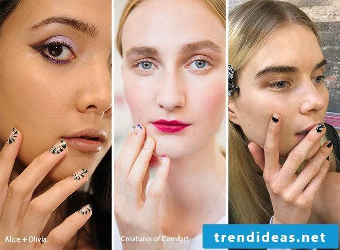 Nail motives Trends 2017