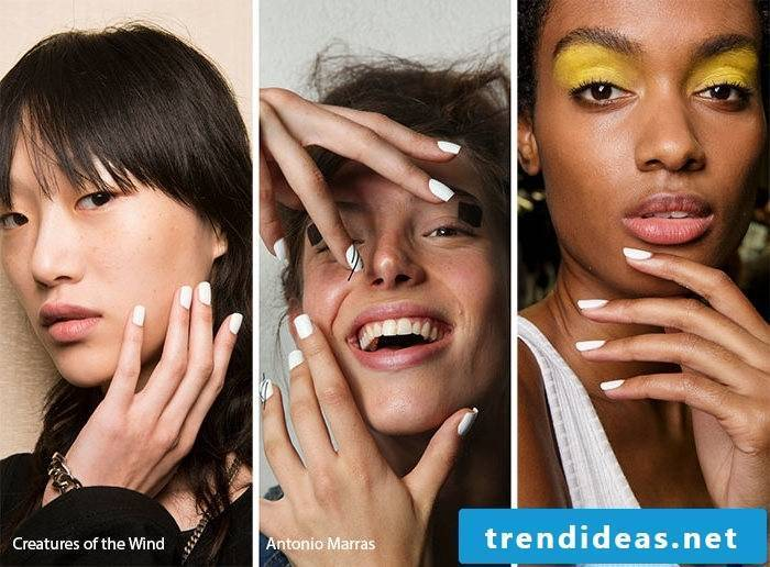 Nail Motives Trends 2017 -White Matt