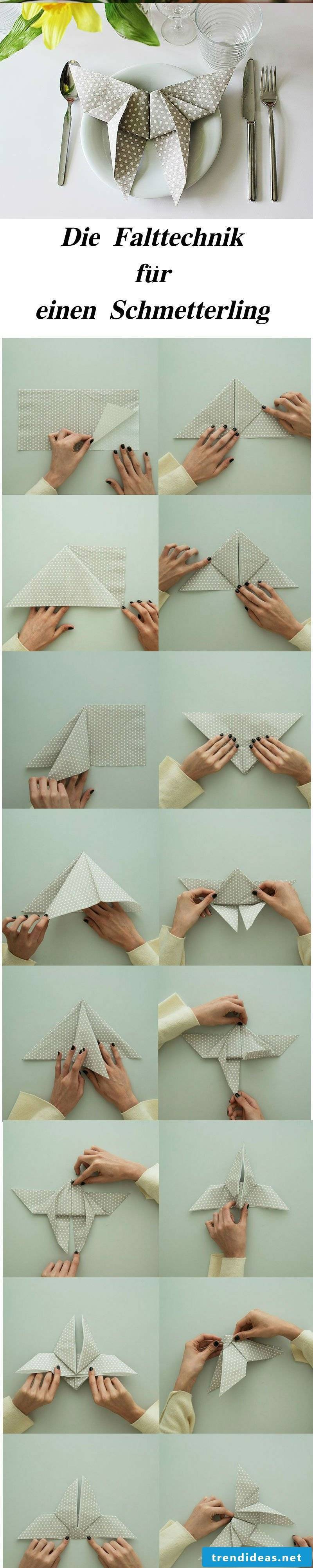Napkins Folding Concepts For The Very Best Child Bathe