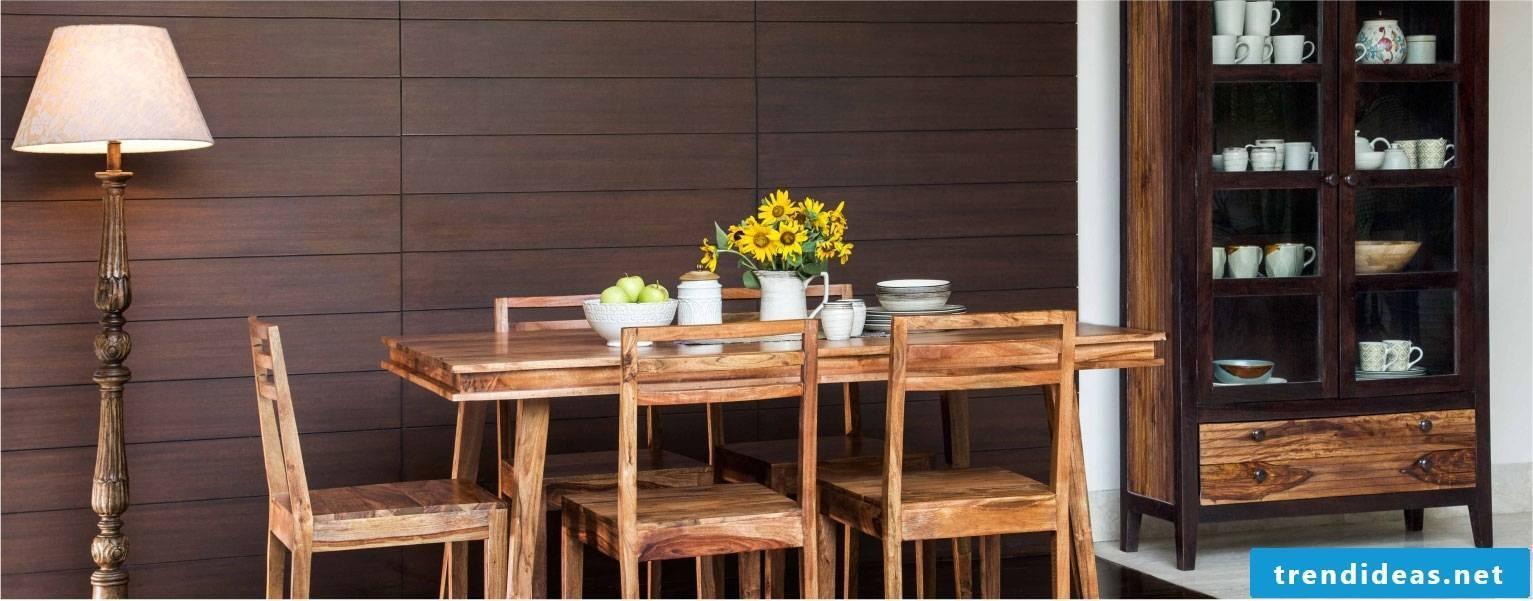 Solid wood furniture ideas