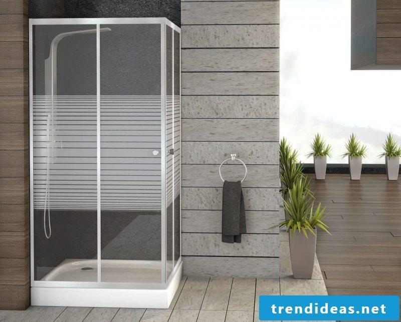 finished showering modern