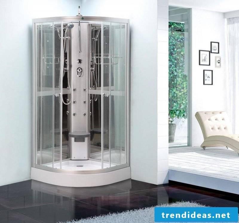 finish showering price