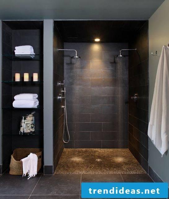 finish showering