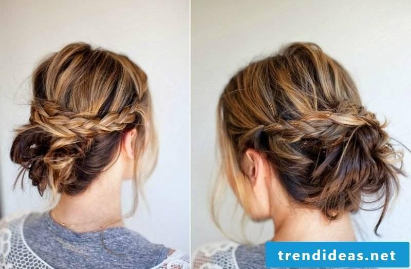 Updos tutorial loose hairstyle long hair summer
