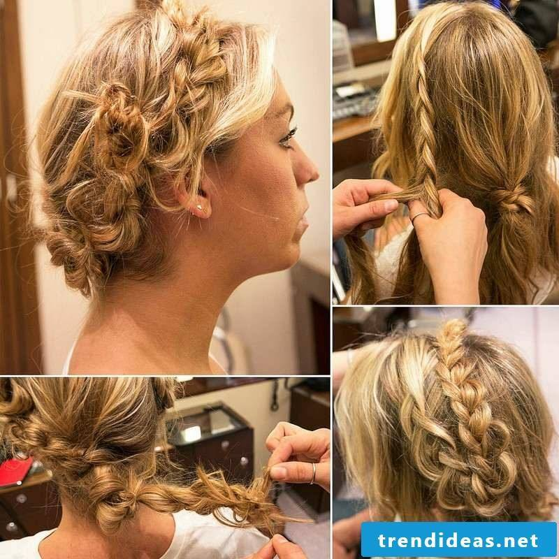 loose updo instructions