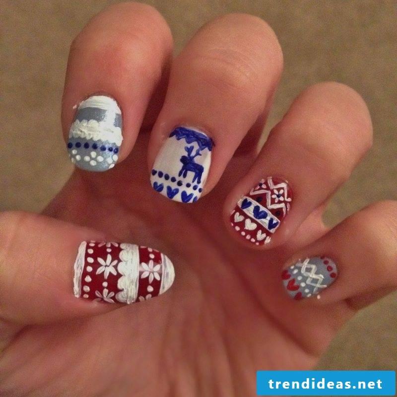 Beautiful gel nails DIY ideas
