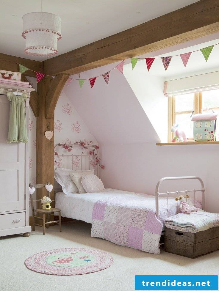 children's room ideas bed wood nursery decorating girl