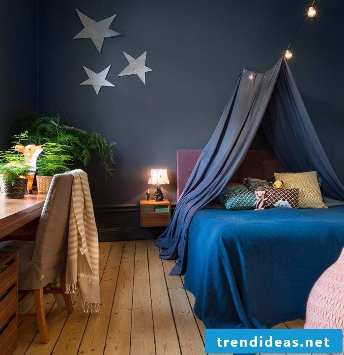 nursery ideas dark blue wall design nursery decorating tips