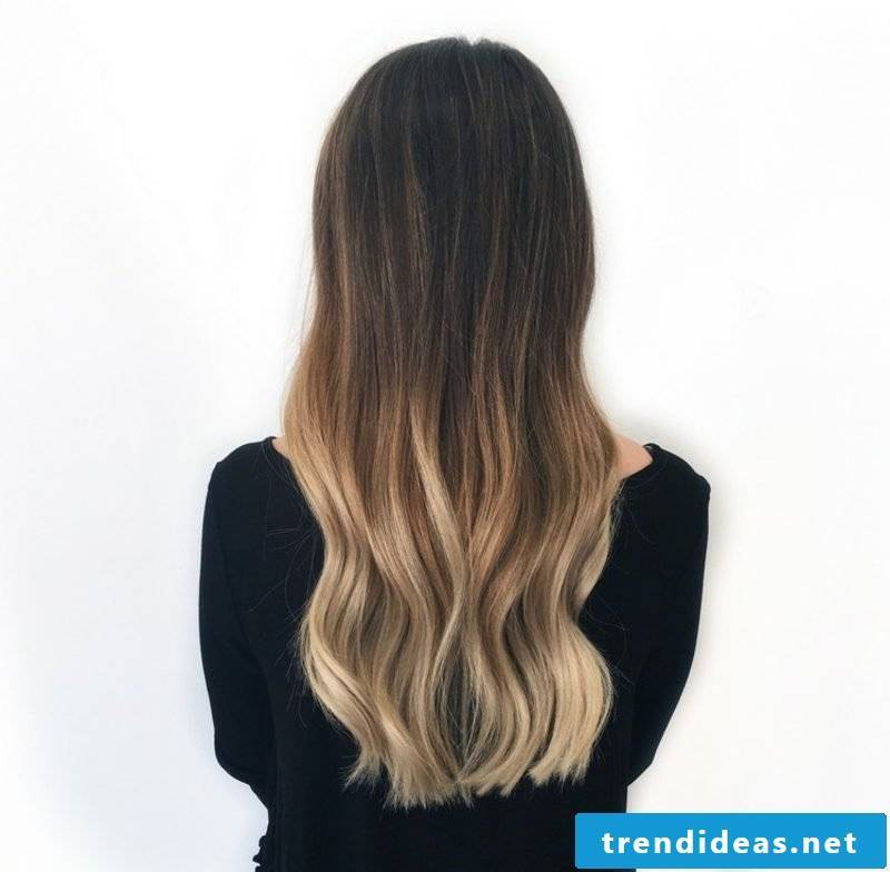 Hair Ombre modern look