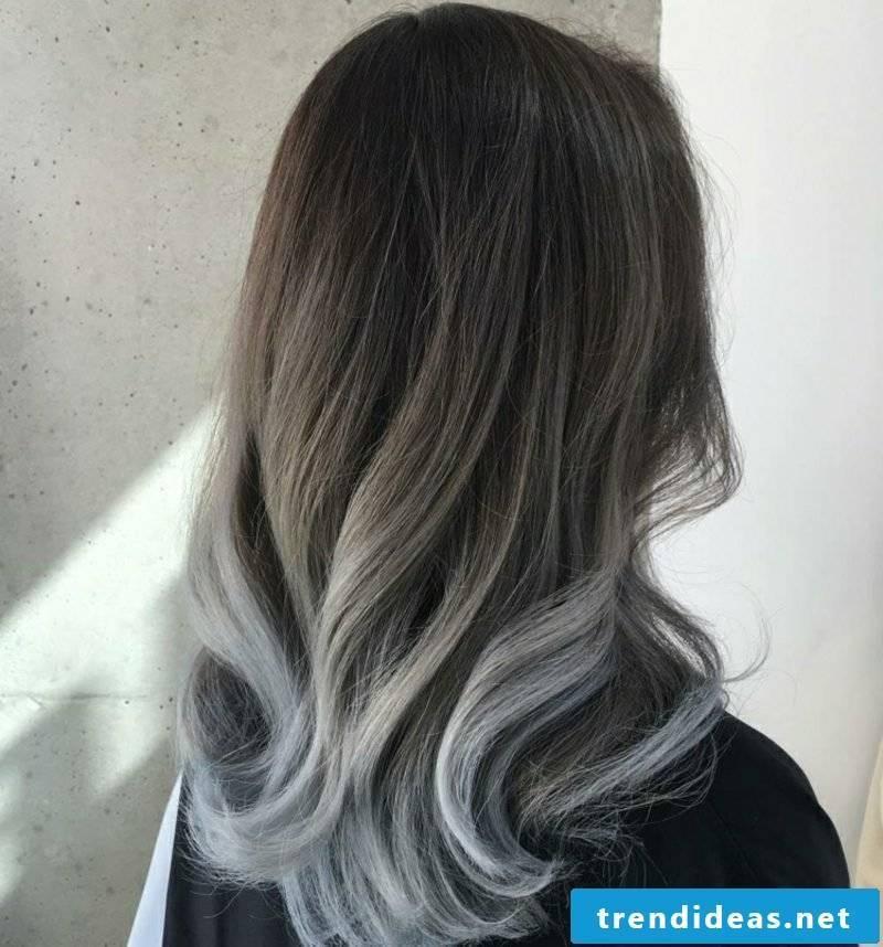 Painting hair beautiful hair colors gray