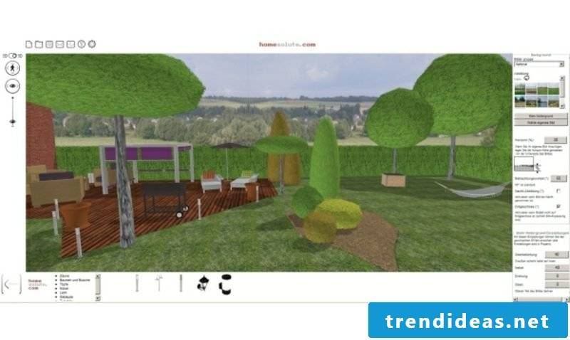 Garden Planner 3D effects online for free