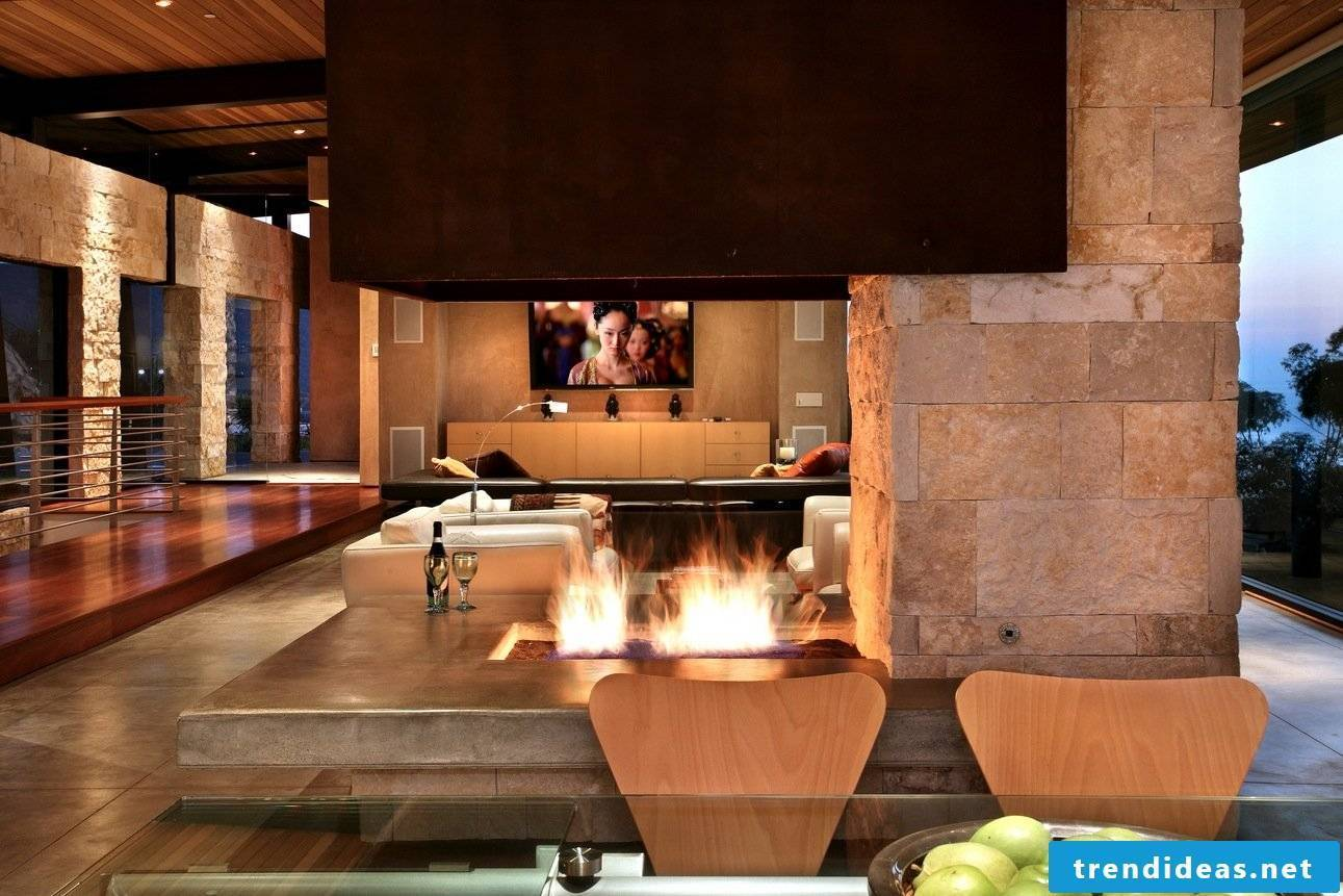 Open fireplaces!