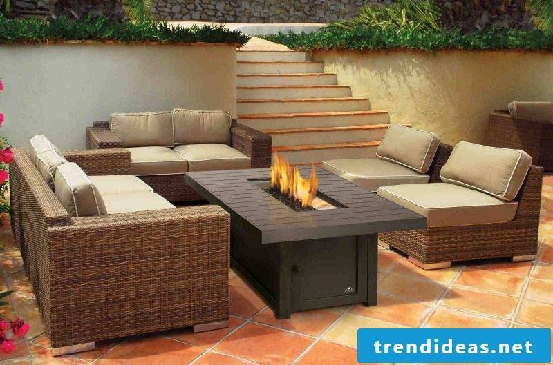Open fireplaces