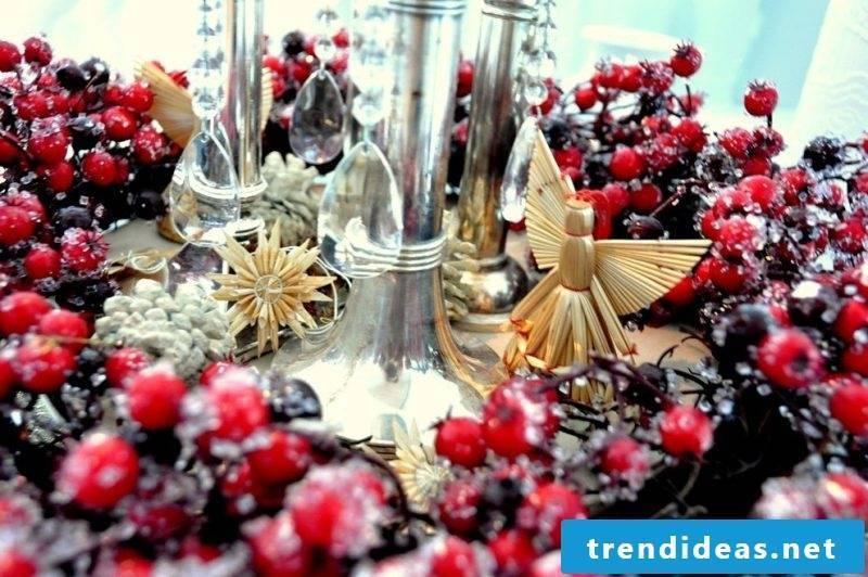 Advent wreath order decoration