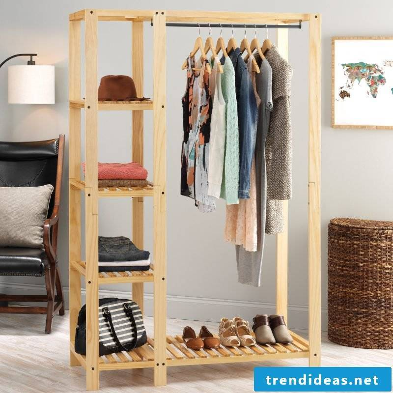 Walk-in wardrobe: express your sense of style!
