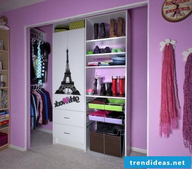 open wardrobe shelving systems style purple walk-in wardrobe