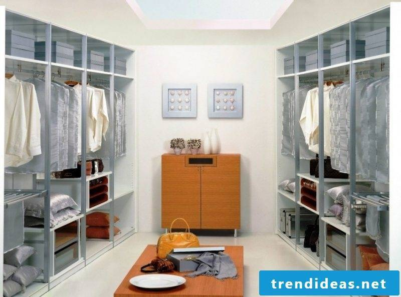 walk-in wardrobe dream scarf drawers gray style clothes rack
