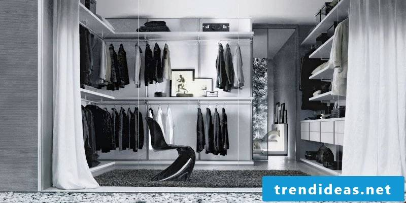 walk-in wardrobe with unique design stylish comfort quality luxury
