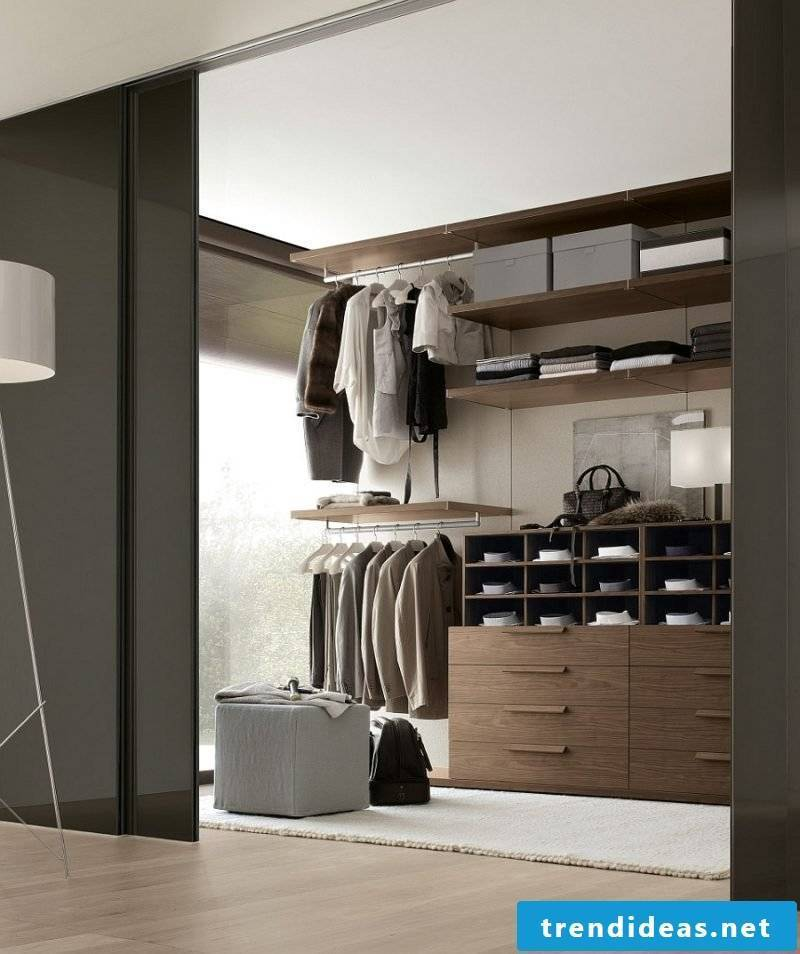Dressing room set walk-in wardrobe dresser drawers clothes rack