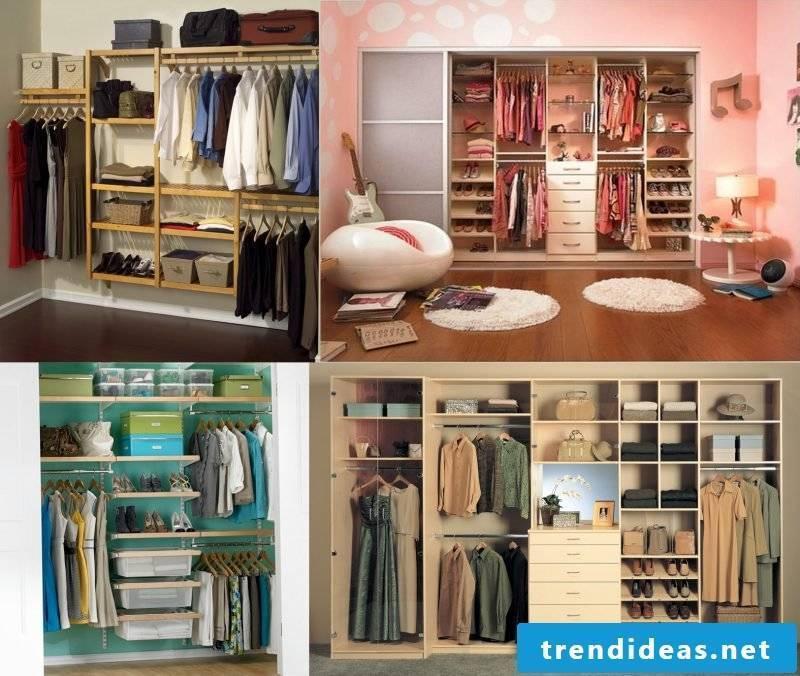 dressing room set up walk-in wardrobe ideas plan open shelving systems