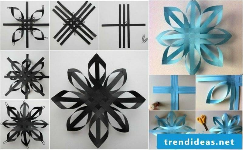 Origami Christmas impressive snowflakes paper