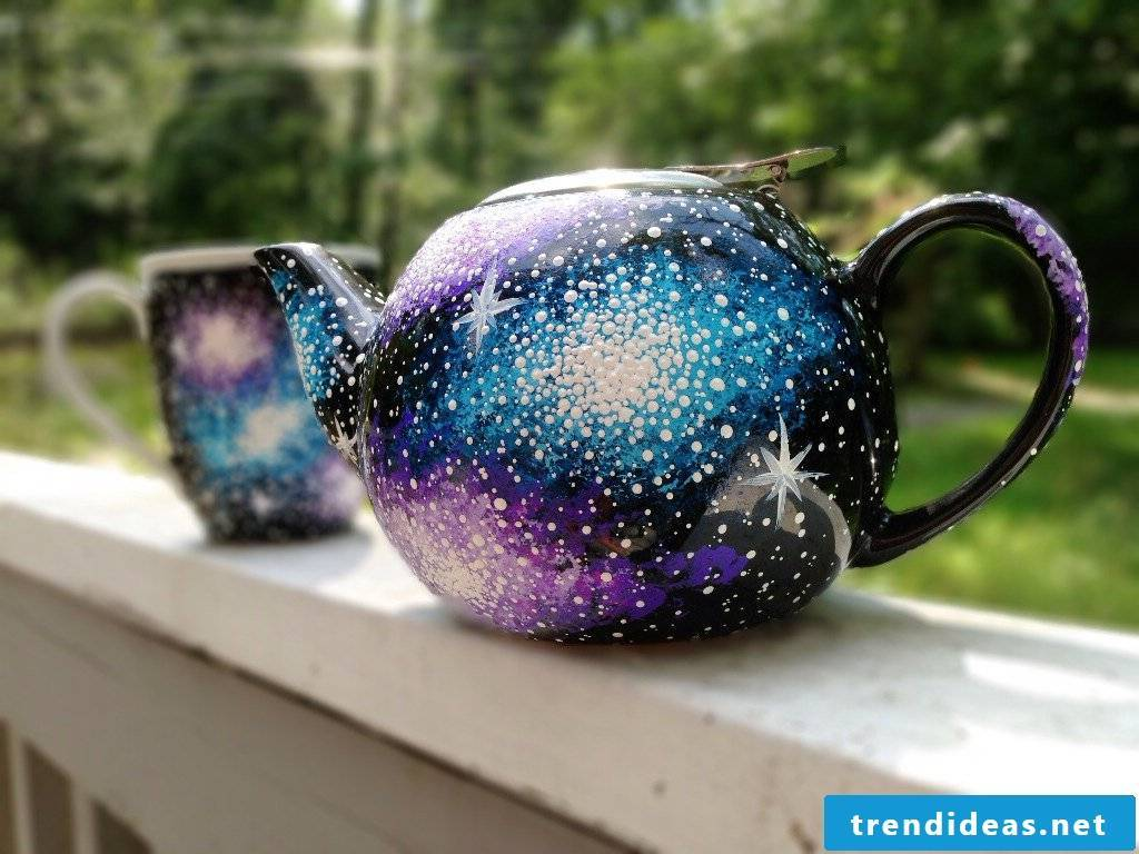 Paint the ceramic yourself